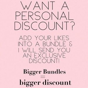 Bundle your likes: I'll make you an offer!!!